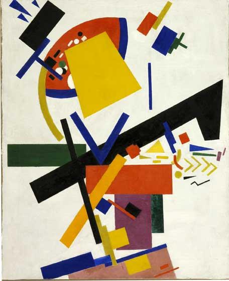 Suprematism. 1915. Oil on canvas