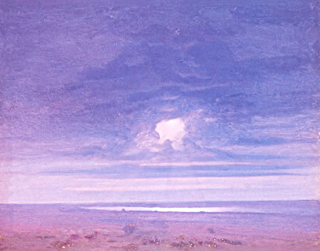 Arkhip Kuindzhi. Cloud. Sunset. 1890's. Oil on paper mounted on canvas. 40 х 51.5