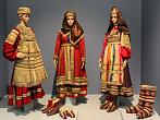 Women's folk costume. Nizhny Novgorod Governorate. 19th-20th centuries. The State Russian Museum