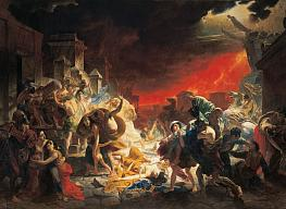 Karl Brullov. The Last Day of Pompeii