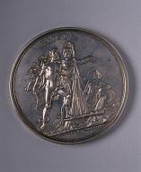 Medal in memory of the Opening of the Blagoveshchensky Bridge across the Neva River