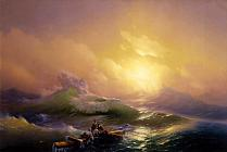 Ivan Ayvazovsky's exhibition is officially closed