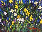 Lilies of the Field. 2003. Oil on canvas. 89х118.4