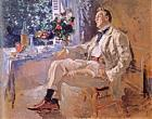 Portrait of the Artist Feodor Chaliapin (1873-1938). 1911. Oil on canvas. 65x81