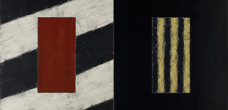 Sean Scully. Facing East