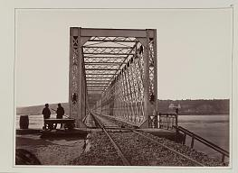 Franz de Maeser.  Railroad bridge. Kiev