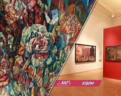 "Online tour of the exhibition ""Dreams of Universal Flowering"""