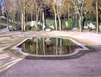 "A.Benois. The ""Mirror"" Pond in Trianon. 1905. Oil on canvas: 45 x 61."