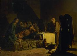 Nikolai Ge. The Last Supper