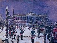Alexander Benois. On the 150th Anniversary of the Artist's Birth