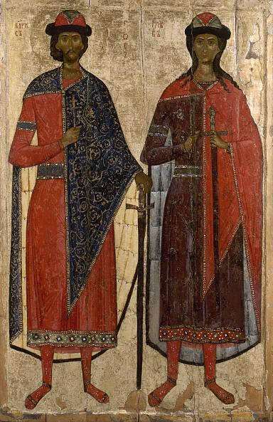 Icon. St Boris and St Gleb