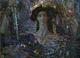 Mikhail Vrubel. A six-winged Serpah