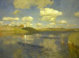 Isaac Levitan. The Lake