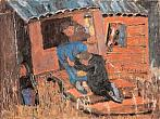 Native House. 2004. Oil on canvas. 149х200