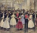 Grigory Gagarin. Princess Maria Baryatinskaya's Ball. Second half of the 1830s. Watercolour on paper
