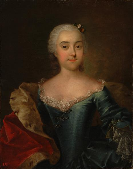 Georg Christoph Grooth. Portrait of Princess Anna Kurakina