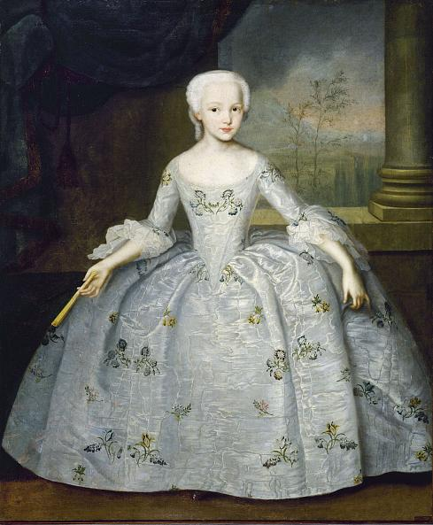 Ivan Vishnyakov. Portrait of Sarah Eleonora Fairmore, Daughter of the British General in Russian Service William Fairmore