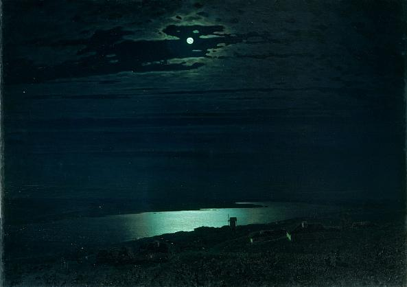 Arkhip Kuindzhi. Moonlight Night on the Dnieper