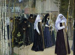 Mikhail Nesterov. The Great Taking of the Veil