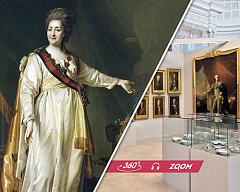 "Online tour of the exhibition ""Catherine the Great in Russia and Beyond"""