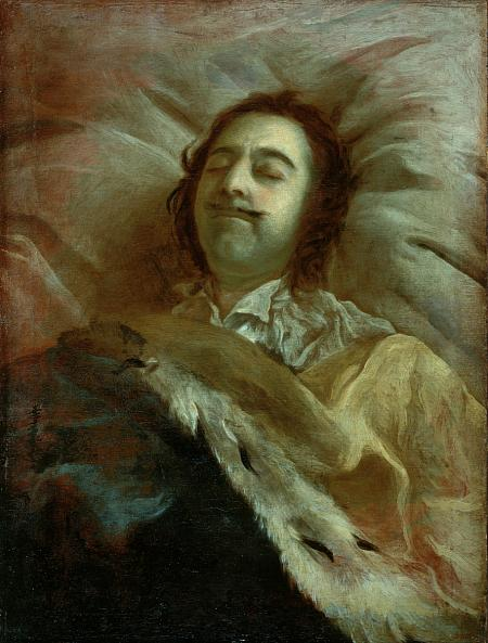 Ivan Nikitin. Peter I on his Death Bed