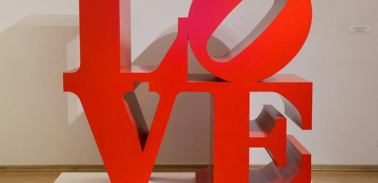 Robert Indiana. To the 50th Anniversary of Love