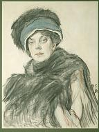 Valentin Serov. Portrait of Princess Olga Orlova