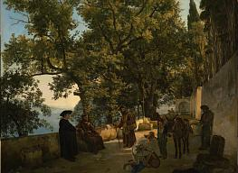 Semyon Schedrin. A Terrace on the Seashore Capuccini near Sorrento
