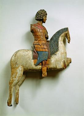 St George the Great Martyr. Carved sculpture