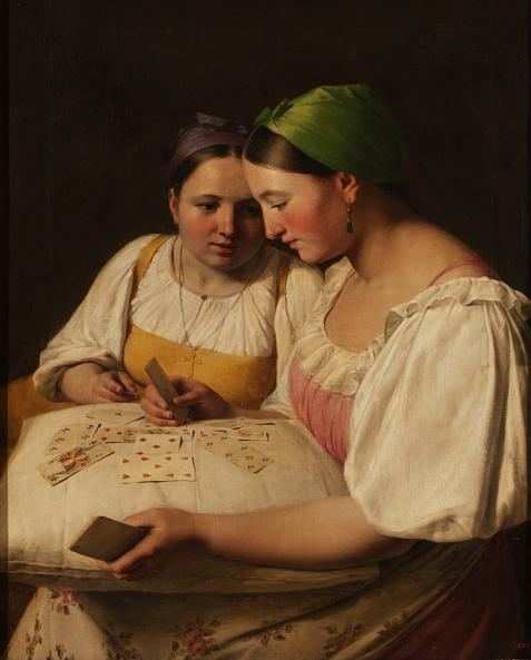 Аlexei Venetsianov. Fortune telling with Cards
