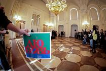 Opening of Robert Indiana's exhibition in the Marble Palace