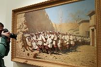 "Opening of exhibition ""Vasily Vereshchagin. To the 175th Anniversary of the Artist"""