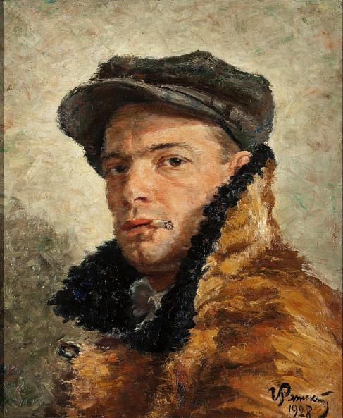 Georgy Ryazhsky. Self-Portrait