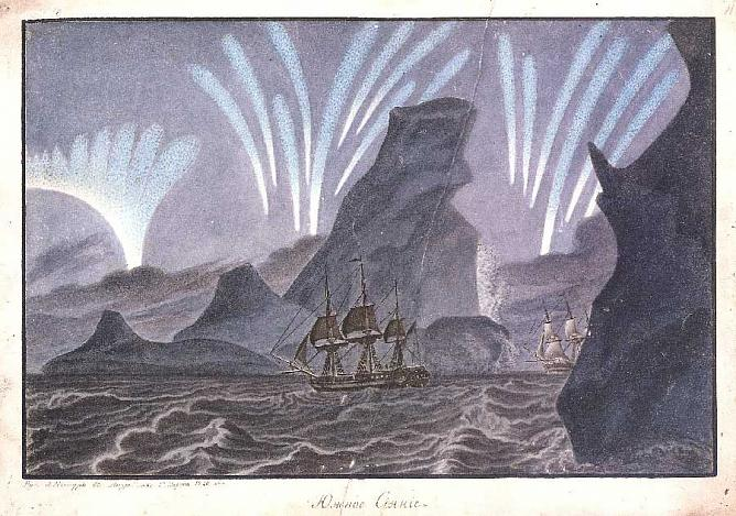 Aurora. Australis. Between 1821 and 1824. 29x41 (outlined). State Historical Museum.