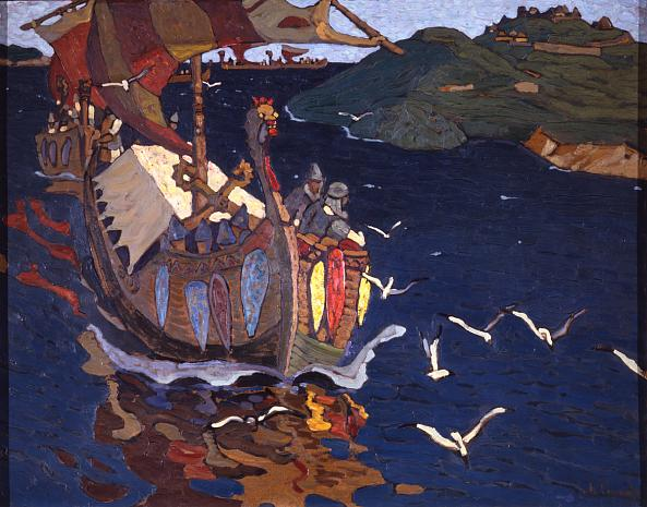 Nicholai Roerich. Overseas Guests