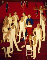 Dmitry Zhilinsky. Gymnasts USSR