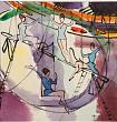 V.Alfeevsky. Trapeze artists. Water color, ink on paper. 1966. Russian Museum.