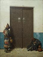 Vasily Vereshchagin. At the dors of a Mosque