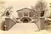 Unknown photographer. Tsarskoye Selo. Cameron Gallery in winter. 1900s