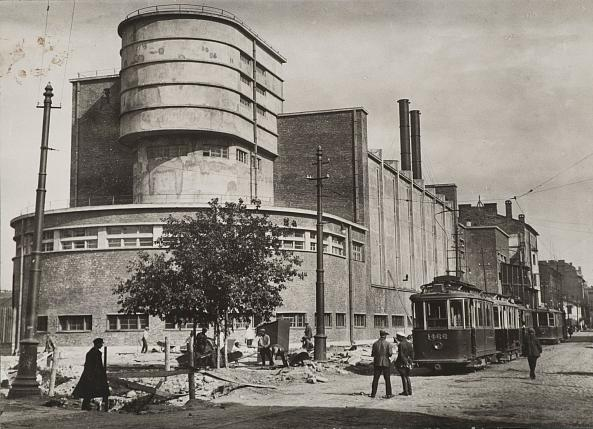Unknown photographer. Red Banner Factory (Krasnoe Znamya Textlile Factory). Pionerskaya st, 53