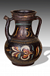 Pitcher. Repino Village. 19th century. The State Russian Museum