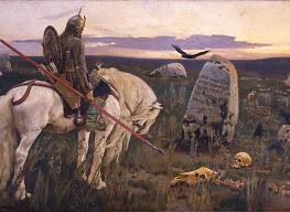 Viktor Vasnetsov. Knight at the Crossroads