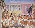 A. Samokhvalov. S. M. Kirov Watches the Parade of Sportsmen. 1935. The State Russian Museum
