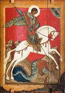 Icon. St George and the Dragon