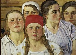 Konstantin Juon. Komsomolka. Youngsters of the Moscow Suburbs