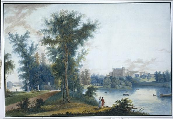 Silvestr Shchedrin. Gatchina. View of the Gatchina Palace from Long Island